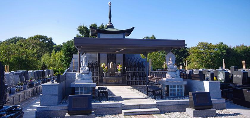長久寺 ほたるの城やすらぎ浄苑 永代供養墓「ねはん」
