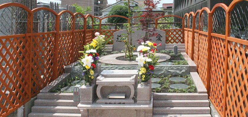 本光寺 小さな樹木葬(樹木墓)樹区
