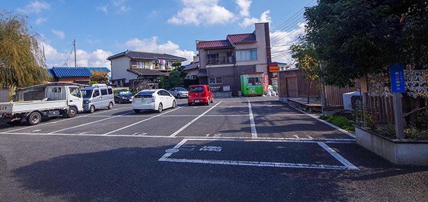 本光寺 駐車場