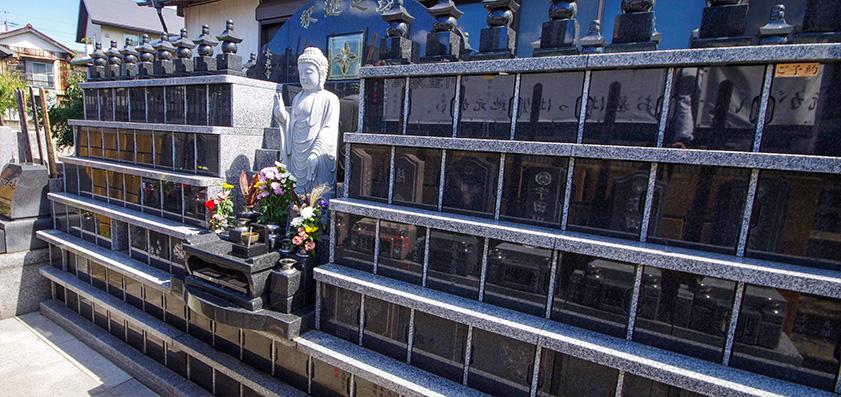 本光寺 永代供養付個別墓「釈迦之塔」釈区・迦区