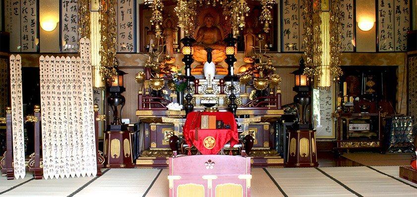 梅林寺 本堂