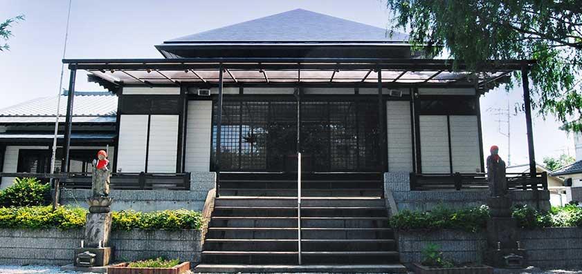 長久寺・ほたるの城 本堂外観