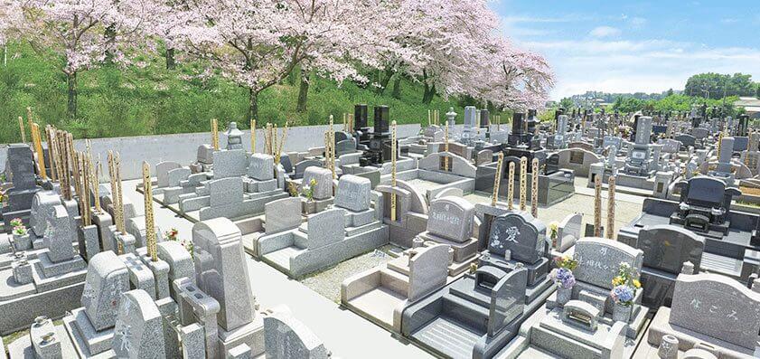熊谷深谷霊園・龍泉寺 墓地