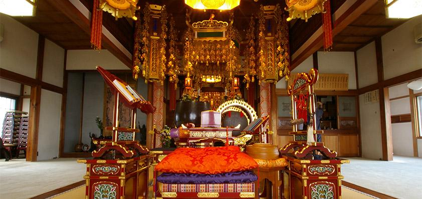 修行寺 本堂