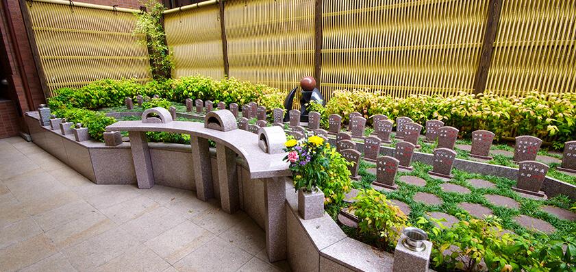 梅林寺 樹木葬(自然葬墓地)