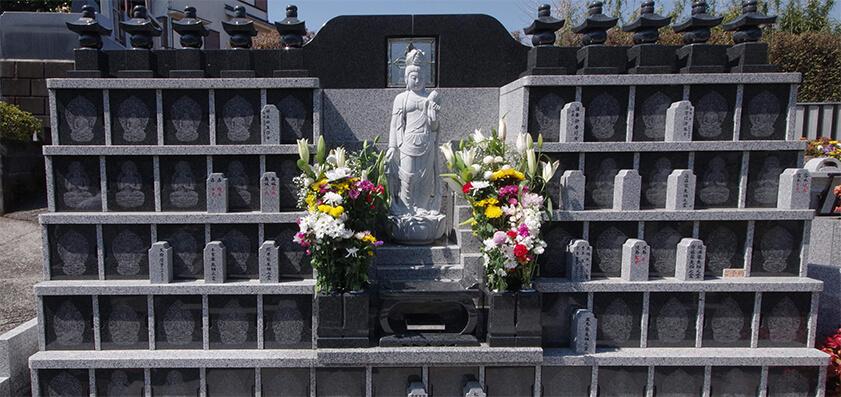 興福寺  永代供養付個別墓「やすらぎ五輪塔」