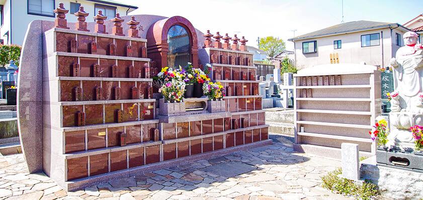 廣済寺 永代供養付個別墓「寂光五輪塔」