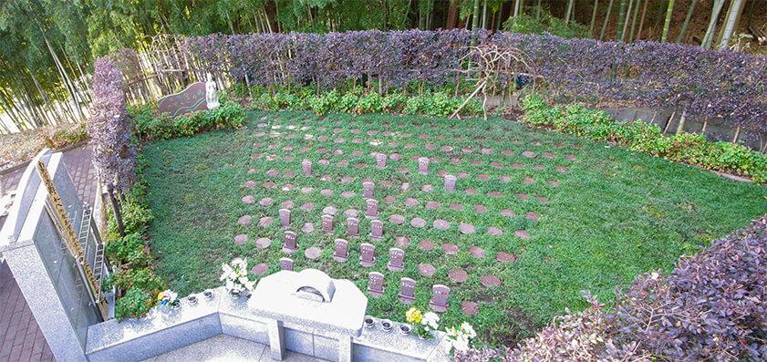 大乗寺 樹木葬「自然想 やすらぎの風」01