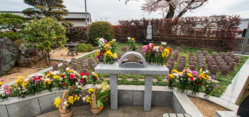 鶴ヶ島霊苑・開栄寺 樹木葬(自然葬墓地)02