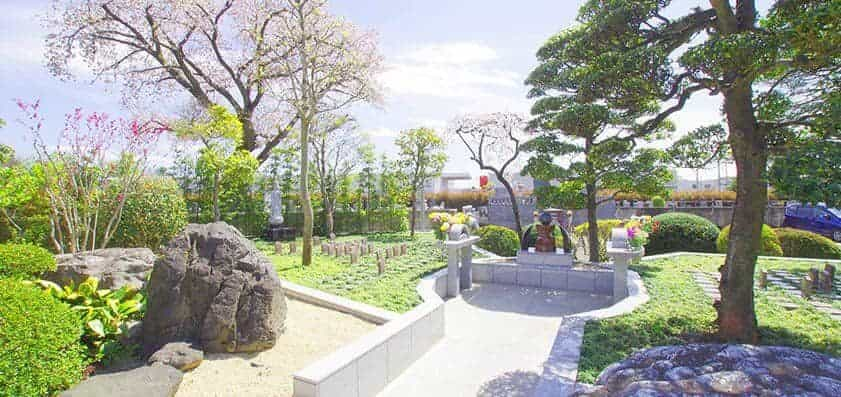 鶴ヶ島霊苑・開栄寺 樹木葬(自然葬墓地)01