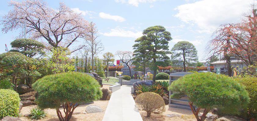 鶴ヶ島霊苑・開栄寺 樹木葬(自然葬墓地)03