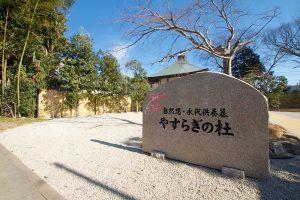 永代供養墓苑「やすらぎの杜」入口