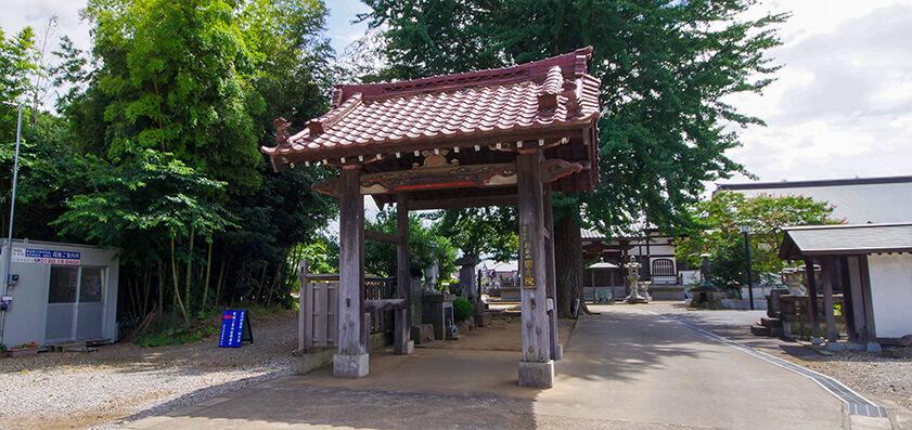 円光院 山門