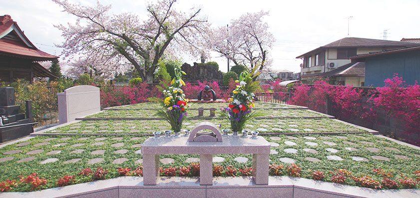 メモリアルすぎと・用中寺 永代供養墓「自然葬」
