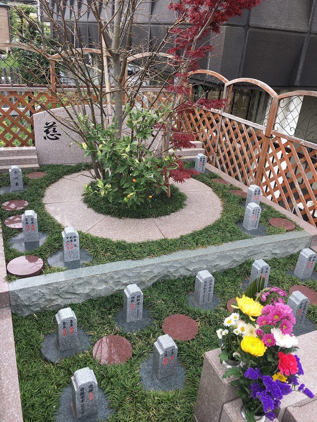 本光寺 樹木葬新区画