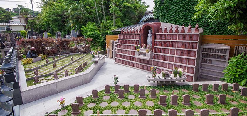 勧行寺 永代供養墓と樹木葬