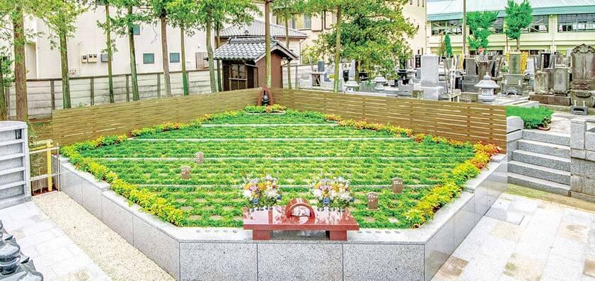 樹木葬 平等寺 - 埼玉県