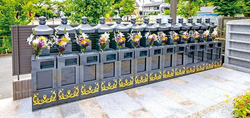 永代供養墓個別墓「冥福五輪塔」 平等寺 - 埼玉県
