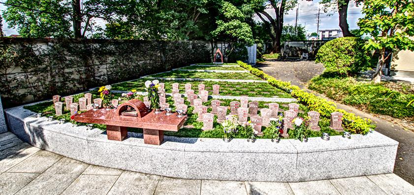 大蓮寺 樹木葬
