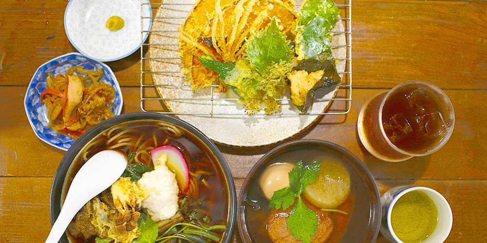 落ち着いた雰囲気で美味しい蕎麦を!お食事処「旅籠ふじ」