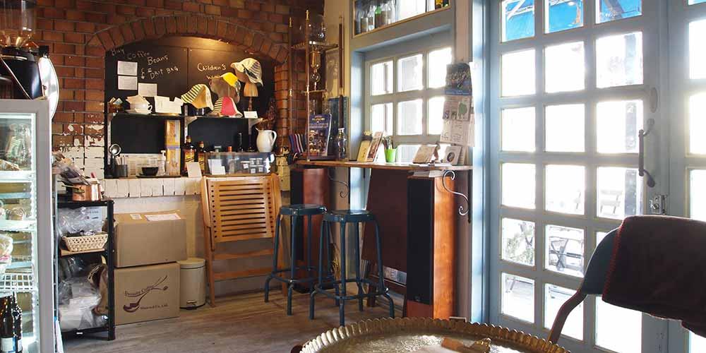 本格コーヒーが飲める塩山の新しい顔「Salz berg coffee(ザルツベルクコーヒー)」
