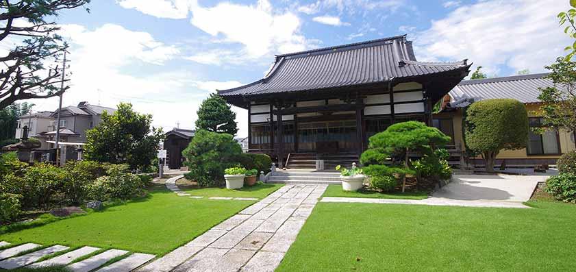 本堂外観 放光寺 - 埼玉県