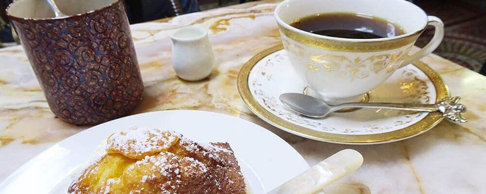 自家製ケーキとコーヒーの相性抜群「麻生珈琲店」