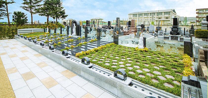 大慶寺 墓域