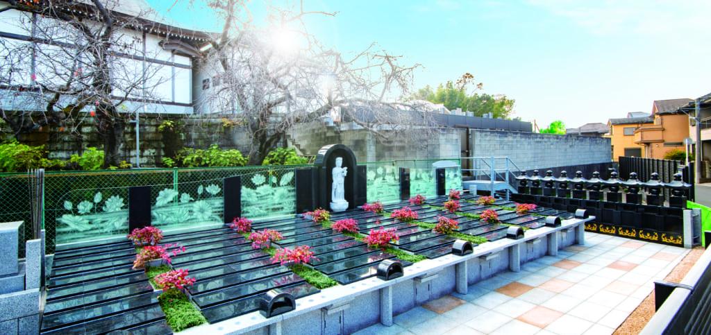 妙正寺 墓域