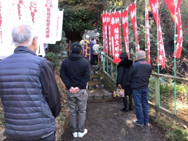 興福寺 稲荷初午祭
