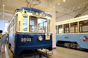 市電車両に触れて童心に帰る「横浜市電保存館」
